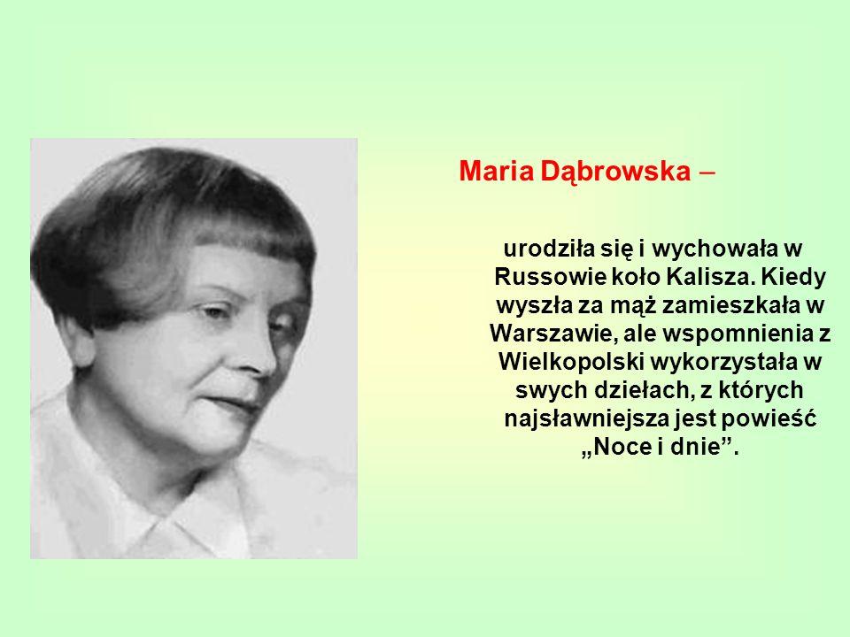 Maria Dąbrowska –