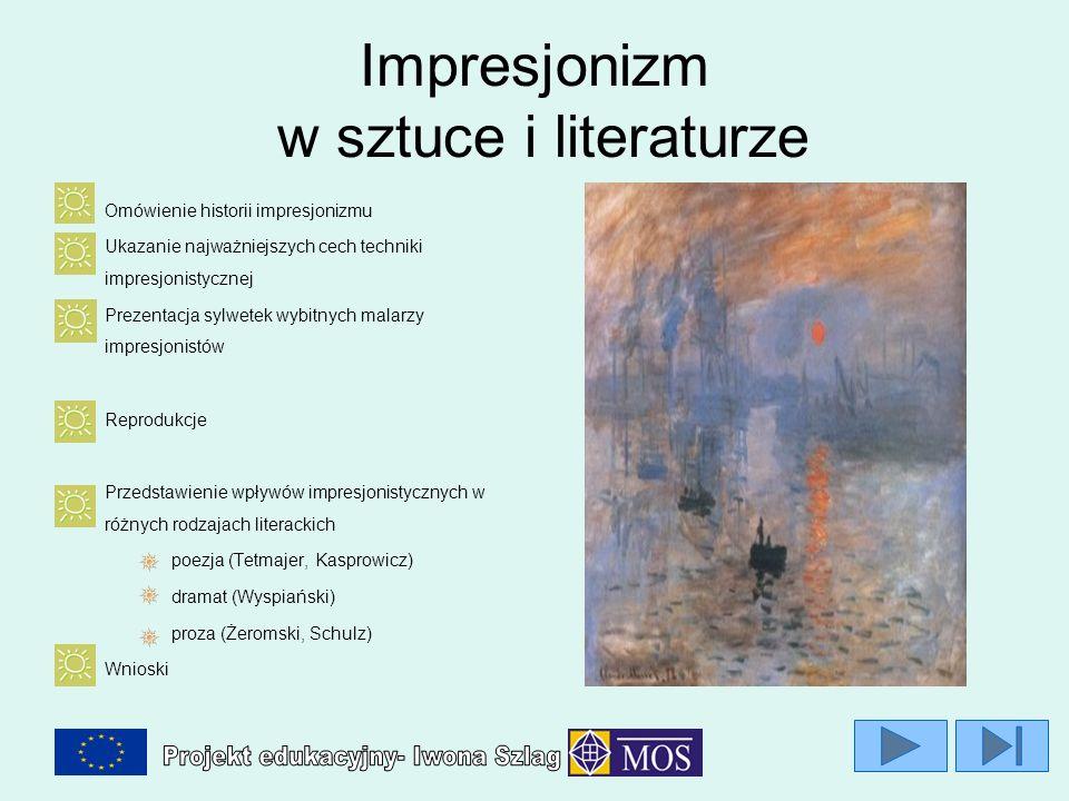 Impresjonizm w sztuce i literaturze