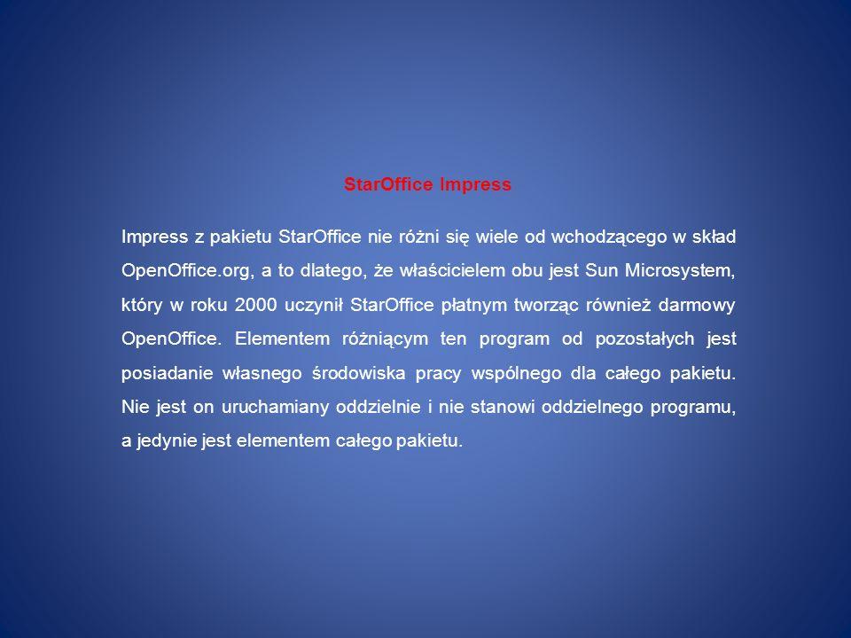 StarOffice Impress
