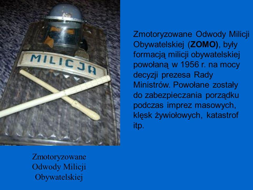 Zmotoryzowane Odwody Milicji Obywatelskiej