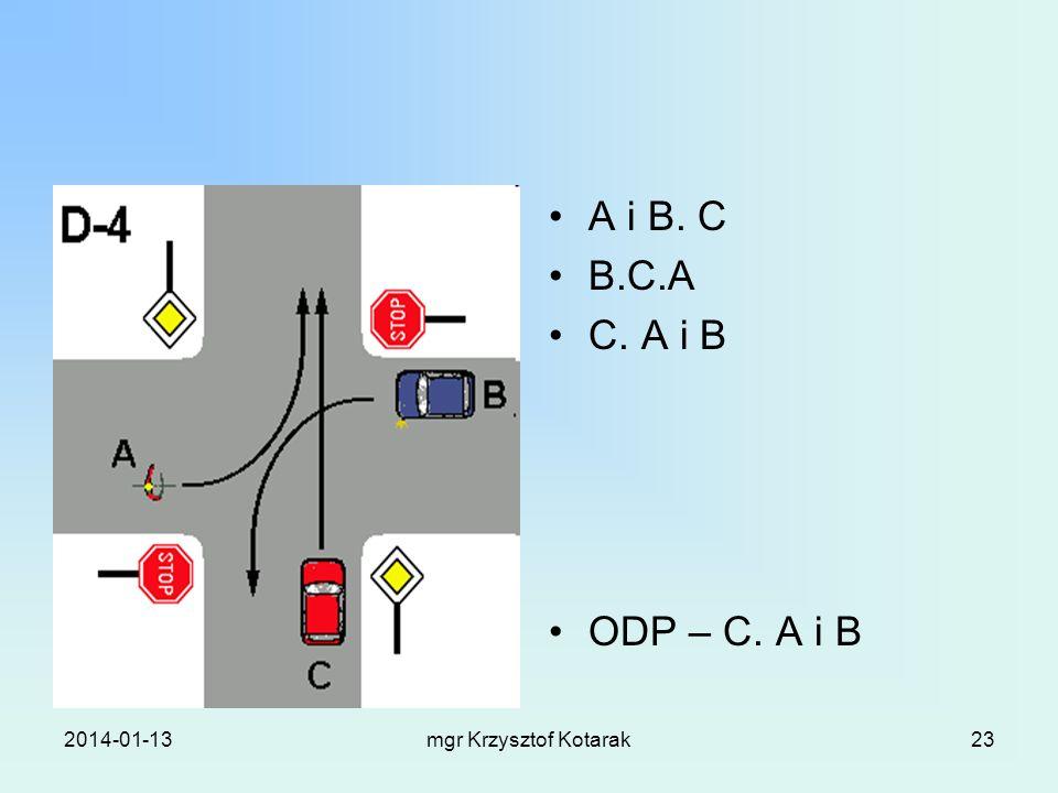 A i B. C B.C.A C. A i B ODP – C. A i B 2017-03-26