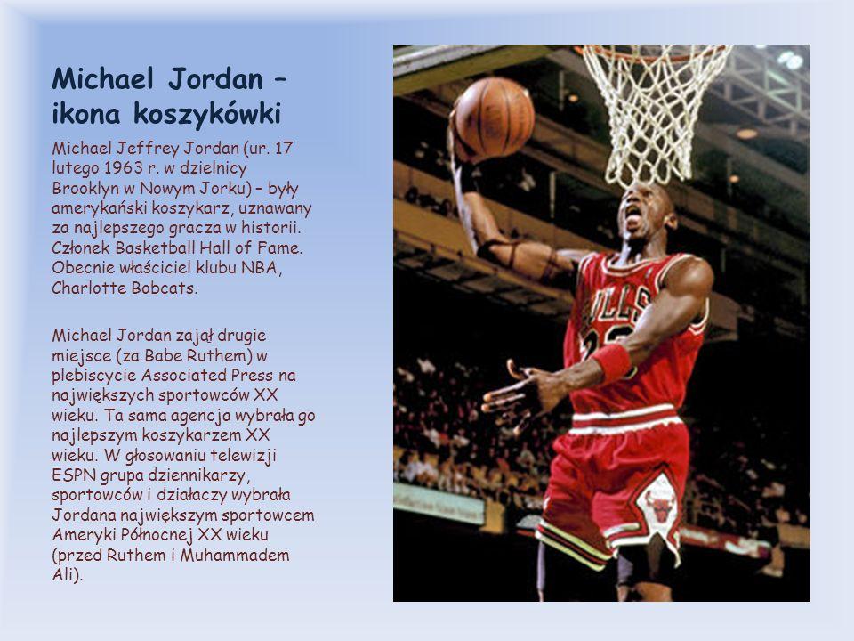 Michael Jordan – ikona koszykówki