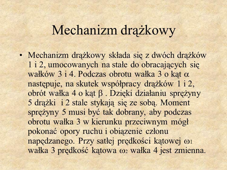 Mechanizm drążkowy