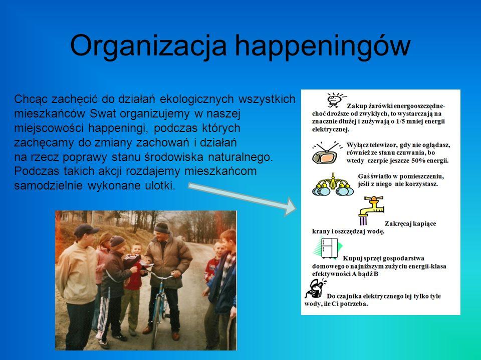 Organizacja happeningów
