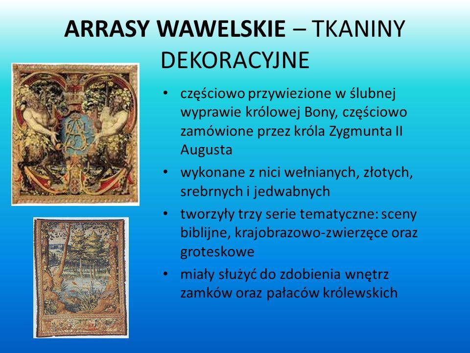 ARRASY WAWELSKIE – TKANINY DEKORACYJNE
