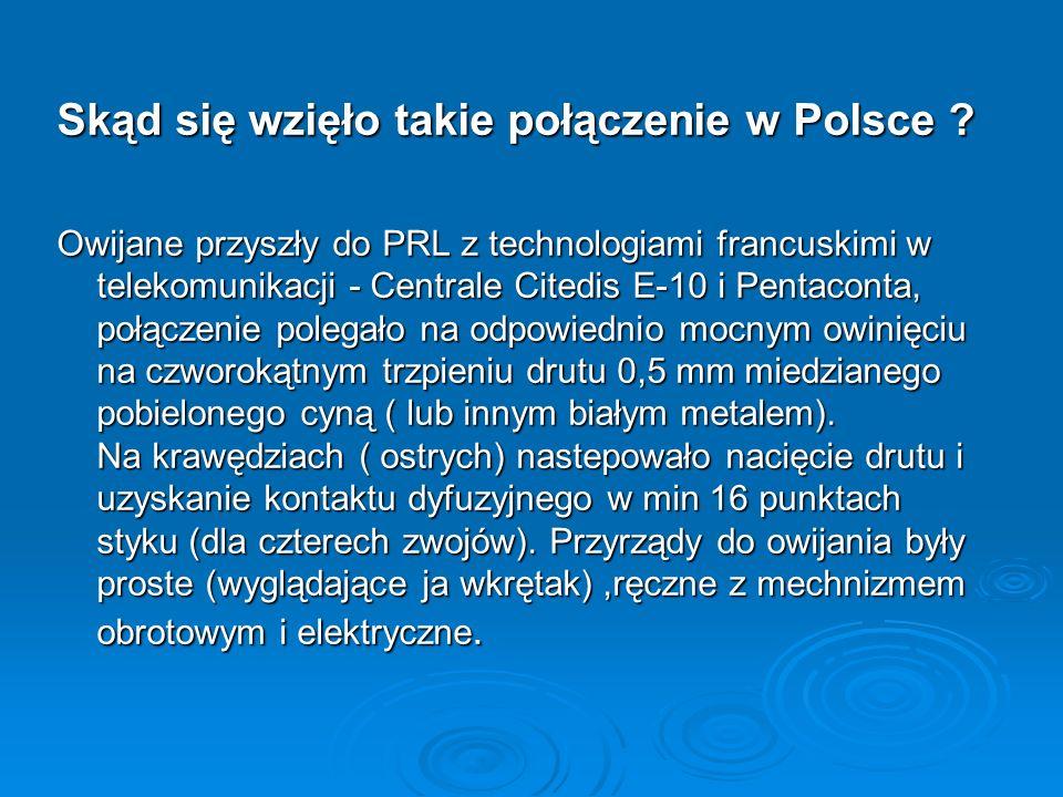 Skąd się wzięło takie połączenie w Polsce
