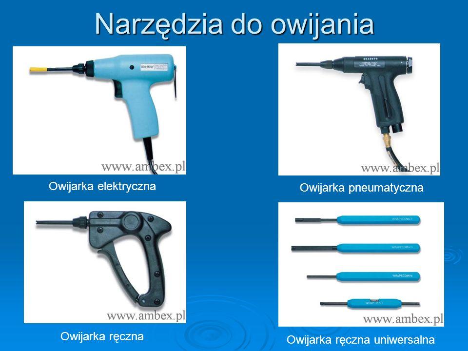 Narzędzia do owijania Owijarka elektryczna Owijarka pneumatyczna