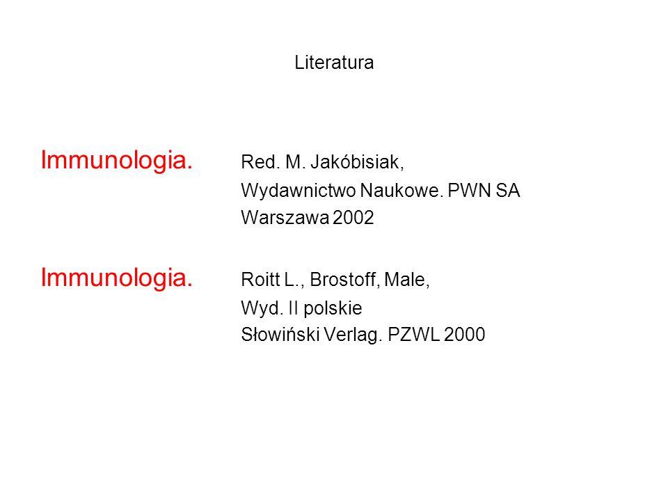 Immunologia. Red. M. Jakóbisiak,