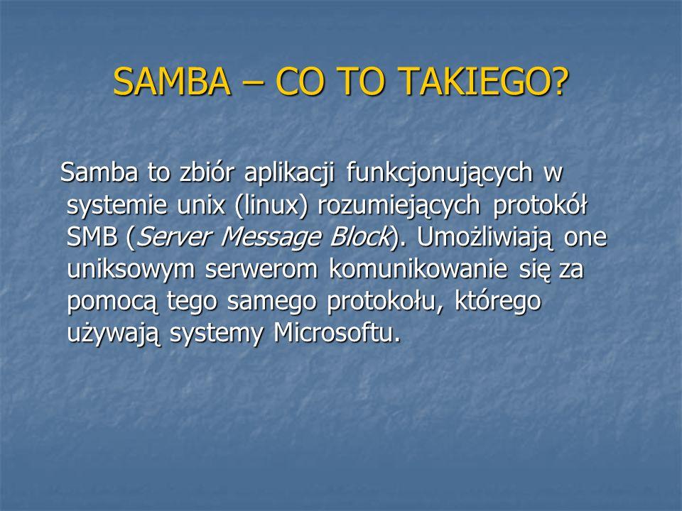 SAMBA – CO TO TAKIEGO