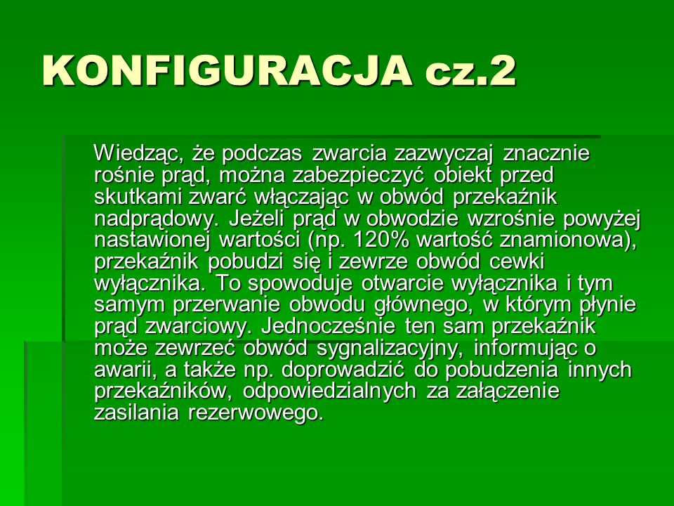 KONFIGURACJA cz.2