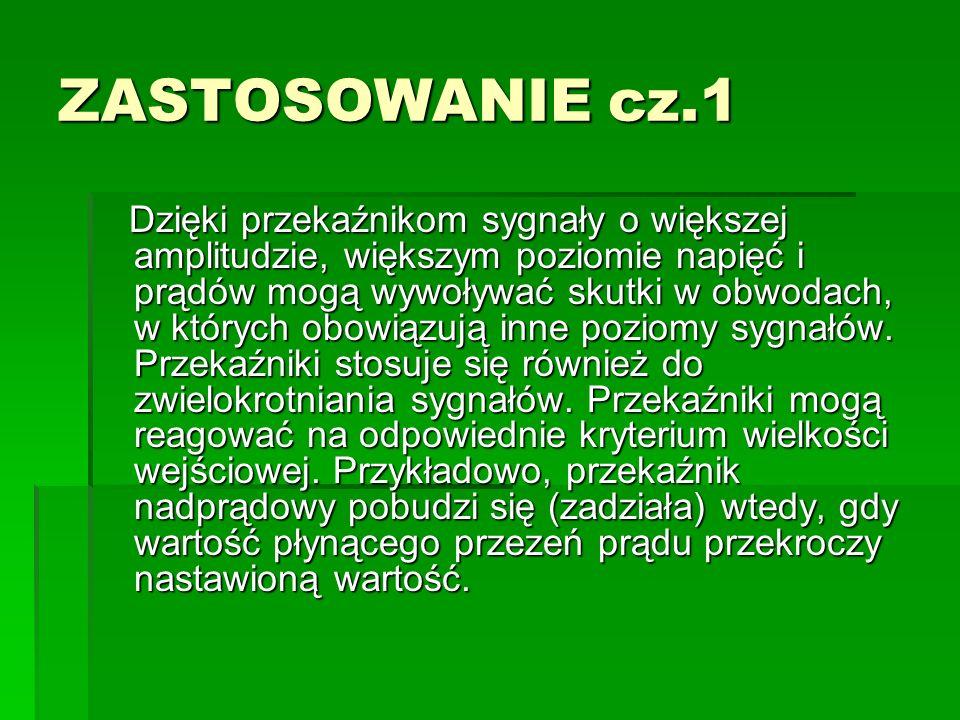 ZASTOSOWANIE cz.1
