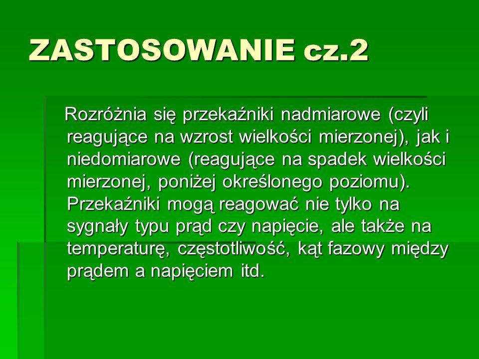 ZASTOSOWANIE cz.2