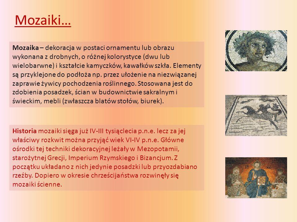 Mozaiki…