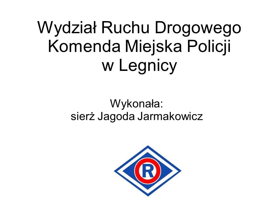 Wydział Ruchu Drogowego Komenda Miejska Policji w Legnicy