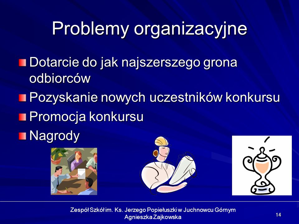 Problemy organizacyjne