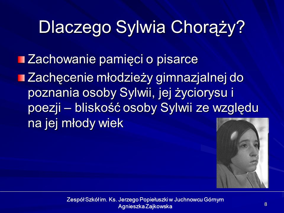 Dlaczego Sylwia Chorąży