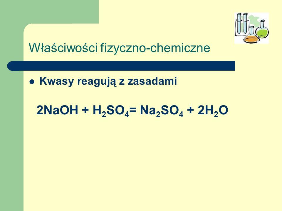 Właściwości fizyczno-chemiczne