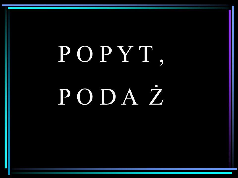 P O P Y T , P O D A Ż