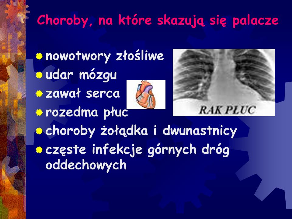 Choroby, na które skazują się palacze