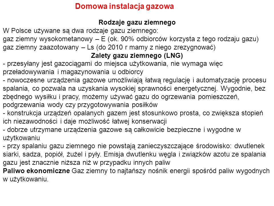 Zalety gazu ziemnego (LNG)