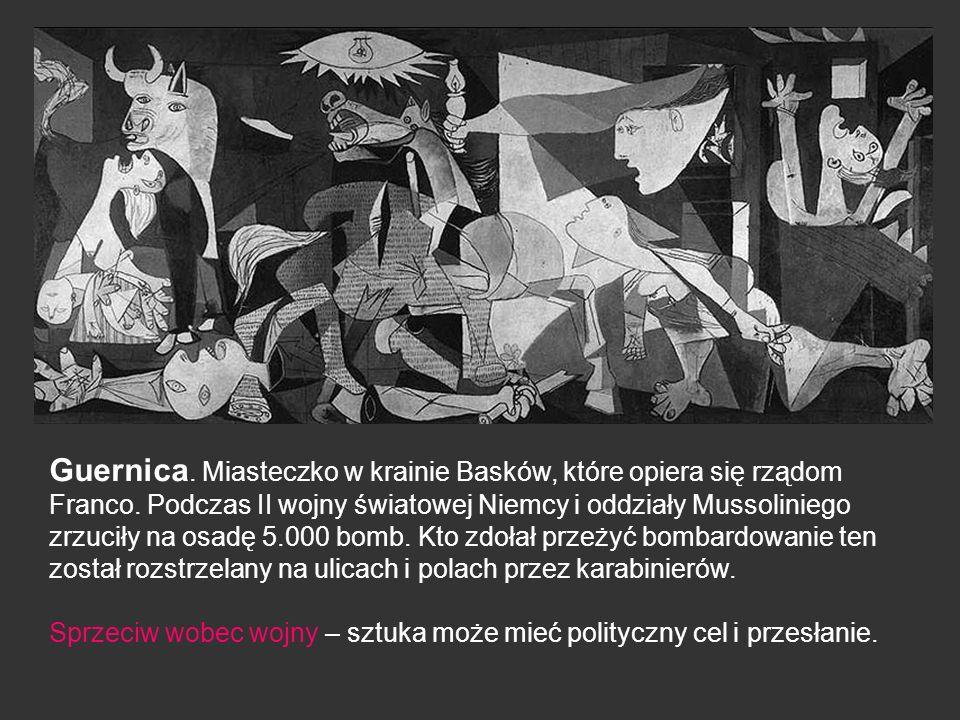 Guernica. Miasteczko w krainie Basków, które opiera się rządom Franco