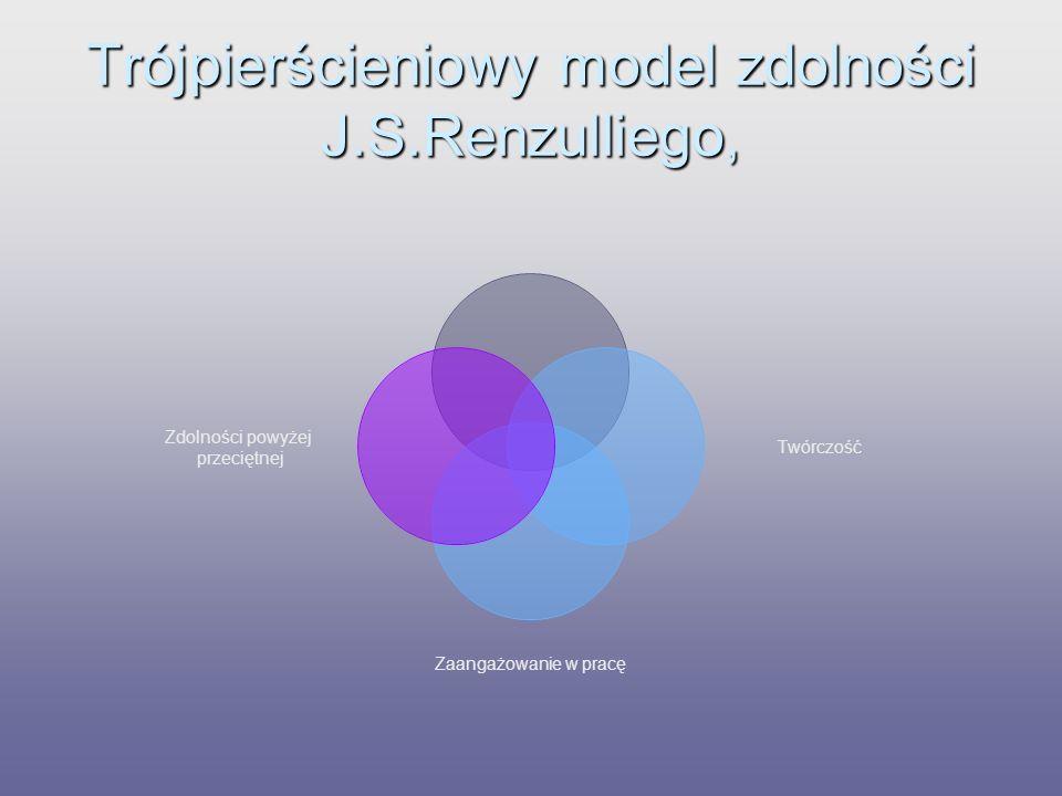 Trójpierścieniowy model zdolności J.S.Renzulliego,