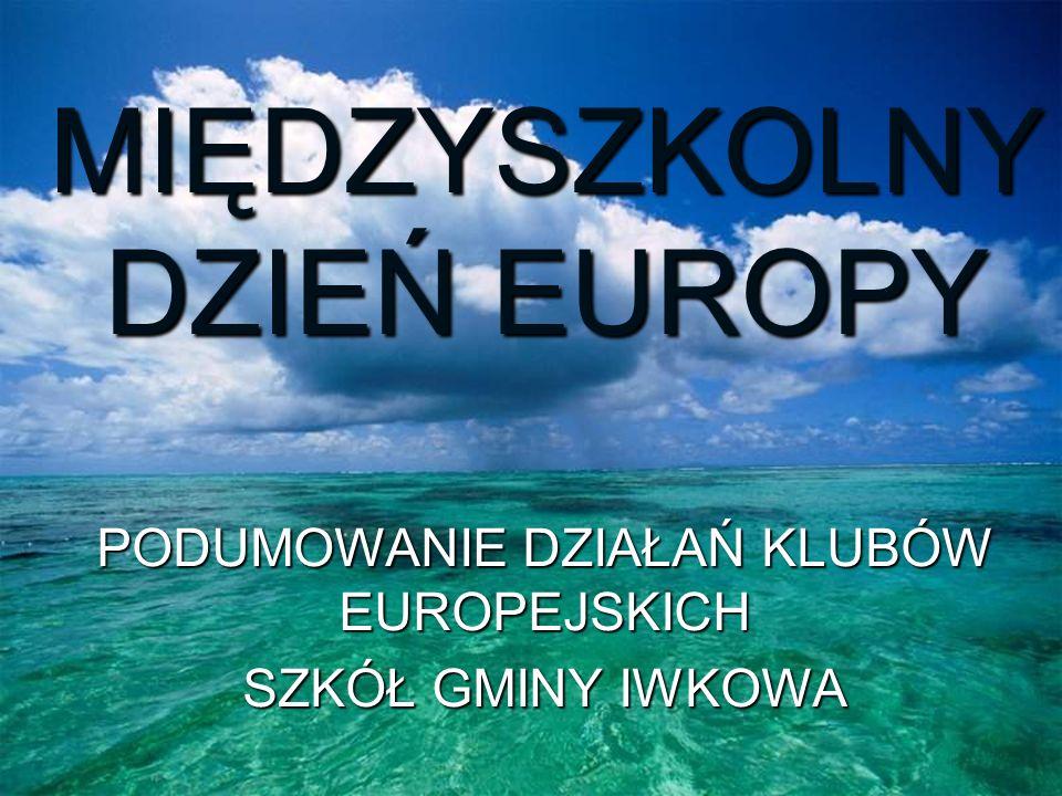 MIĘDZYSZKOLNY DZIEŃ EUROPY