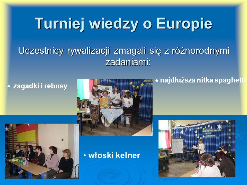 Turniej wiedzy o Europie