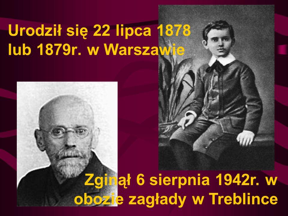 Urodził się 22 lipca 1878 lub 1879r. w Warszawie