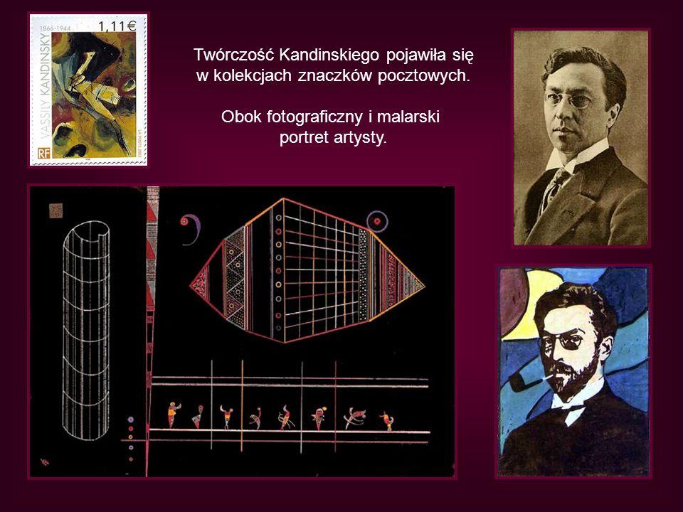 Twórczość Kandinskiego pojawiła się w kolekcjach znaczków pocztowych.