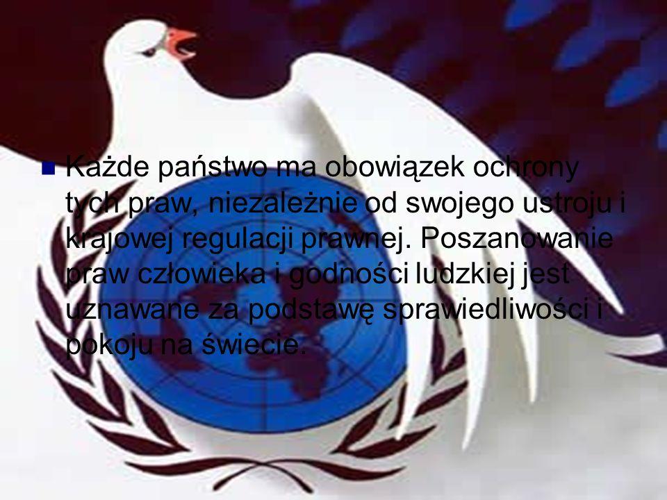 Każde państwo ma obowiązek ochrony tych praw, niezależnie od swojego ustroju i krajowej regulacji prawnej.