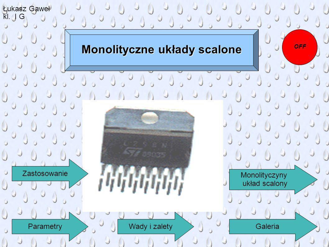 Monolityczne układy scalone
