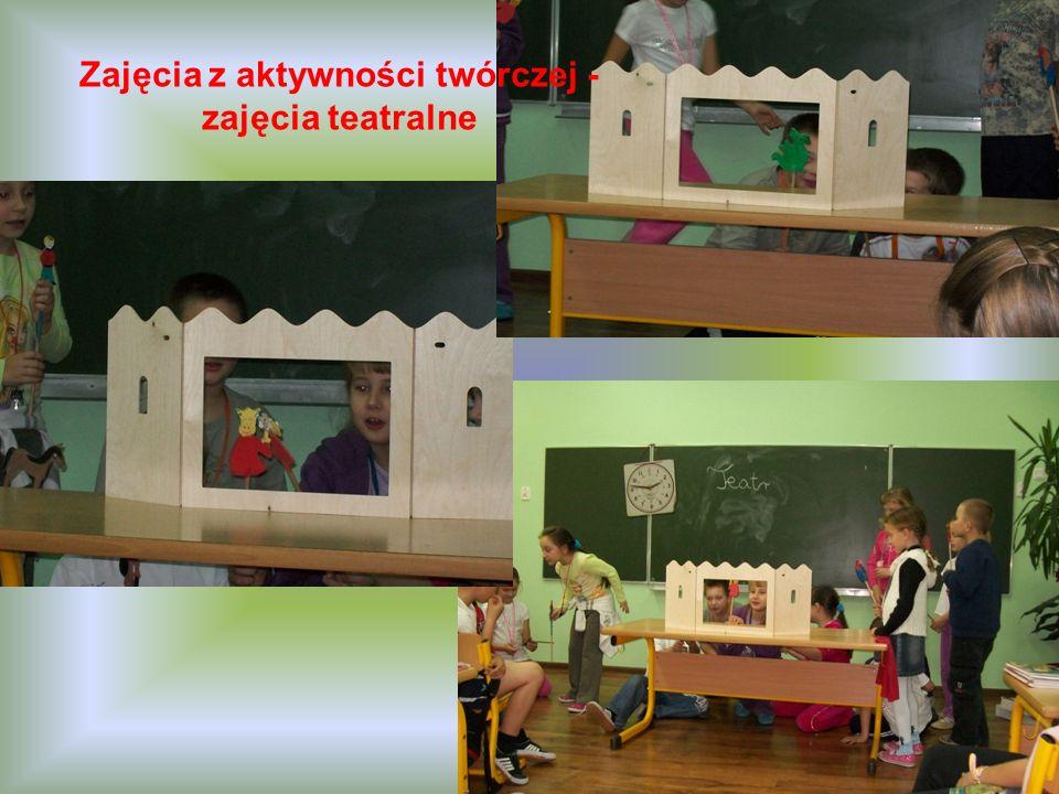 Zajęcia z aktywności twórczej - zajęcia teatralne