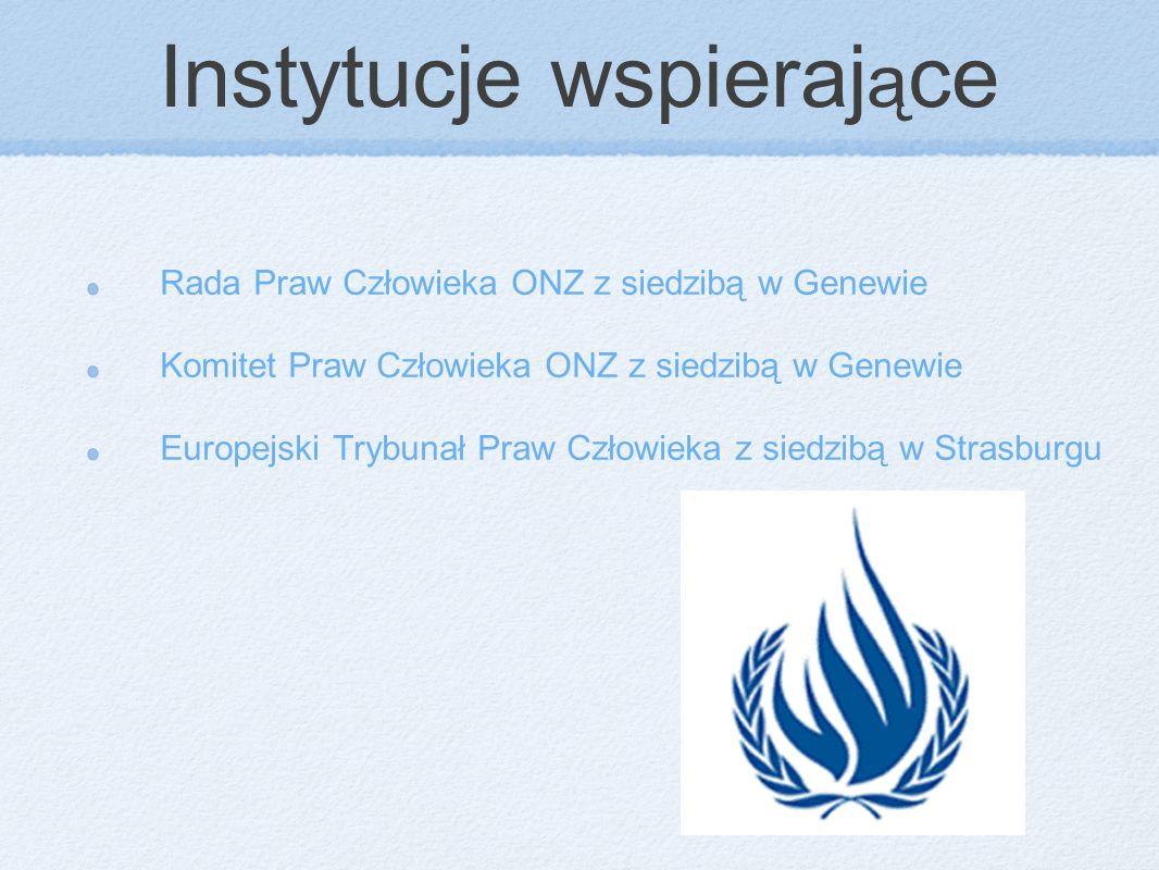 Instytucje wspierające