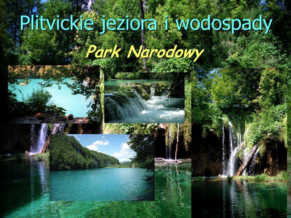 Plitvickie jeziora i wodospady