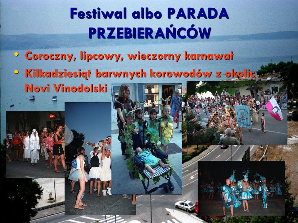 Festiwal albo PARADA PRZEBIERAŃCÓW