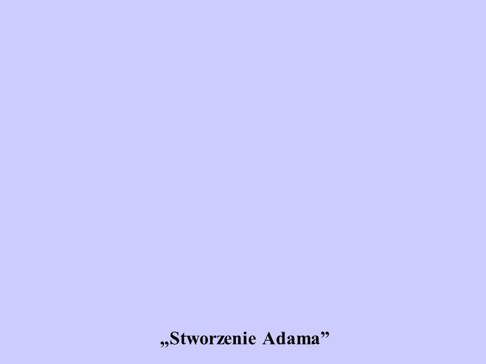 """""""Stworzenie Adama"""