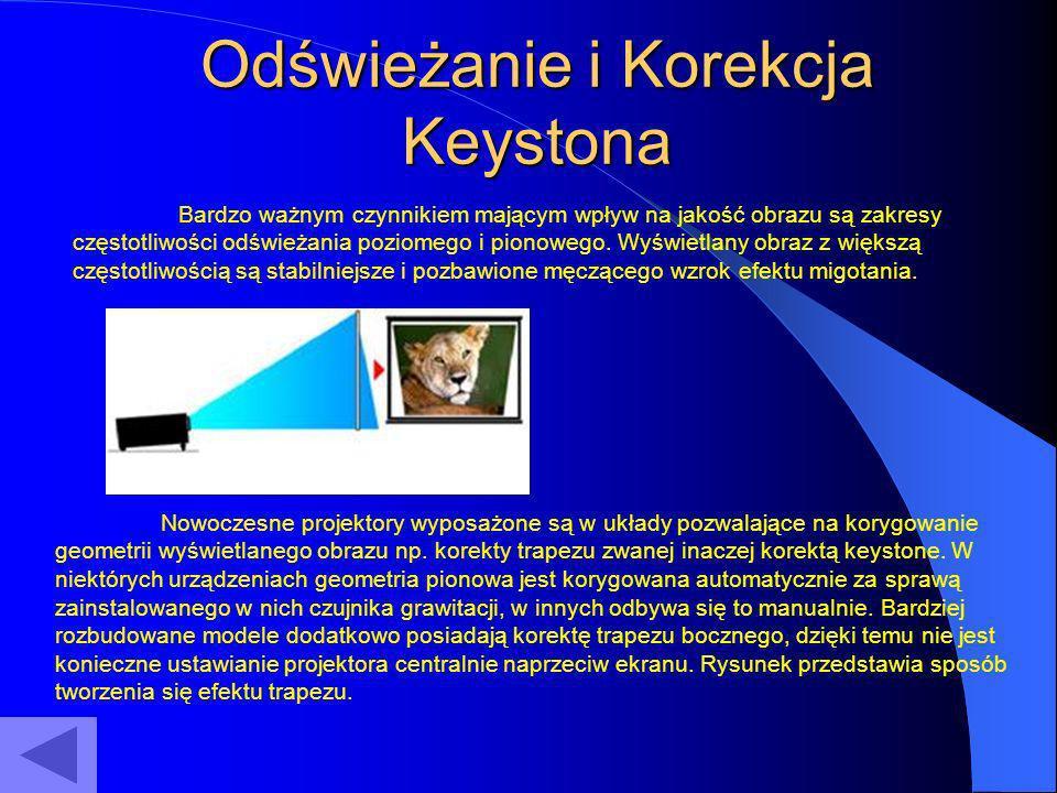 Odświeżanie i Korekcja Keystona