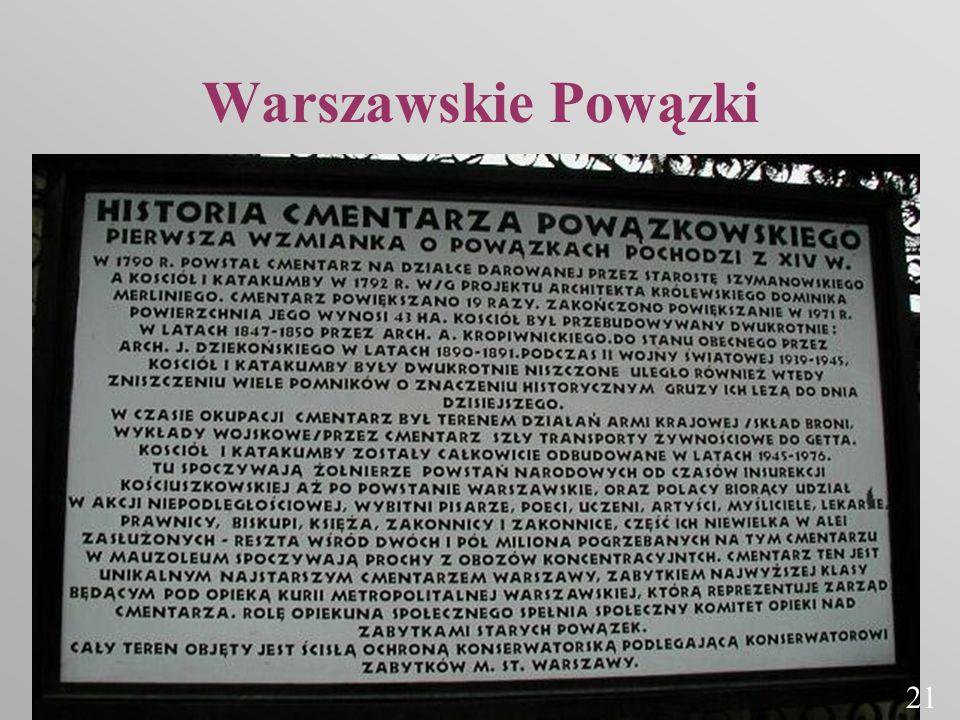 Warszawskie Powązki 21