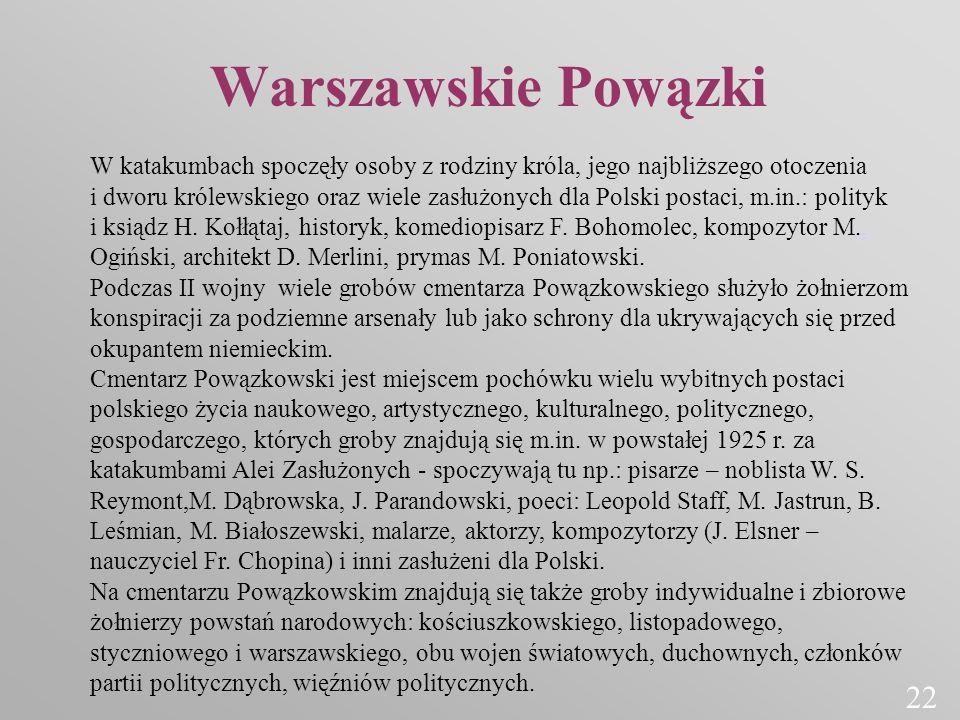 Warszawskie Powązki