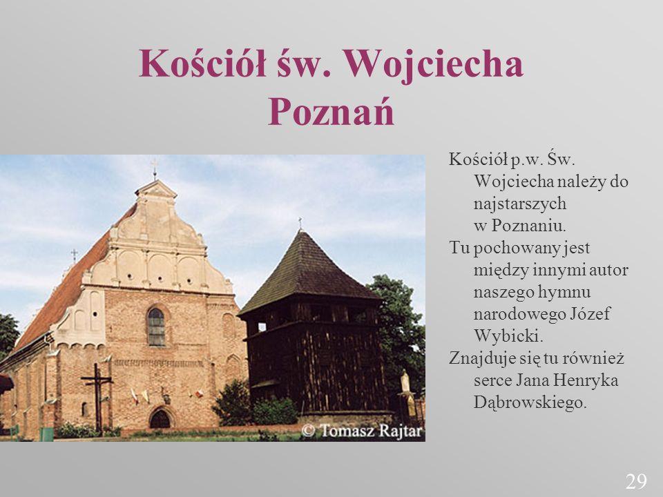 Kościół św. Wojciecha Poznań