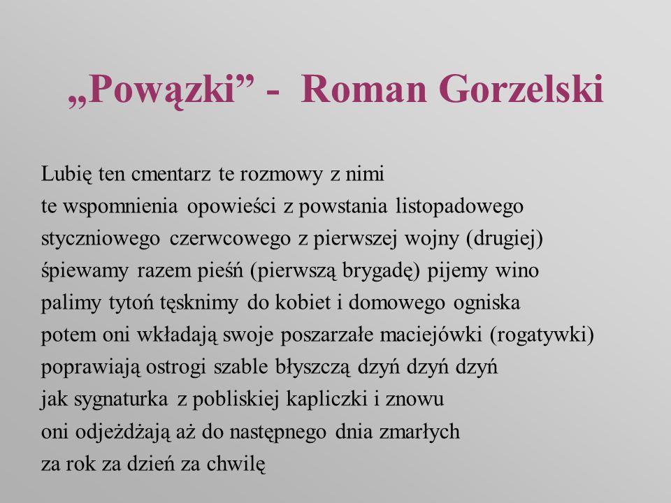 """""""Powązki - Roman Gorzelski"""