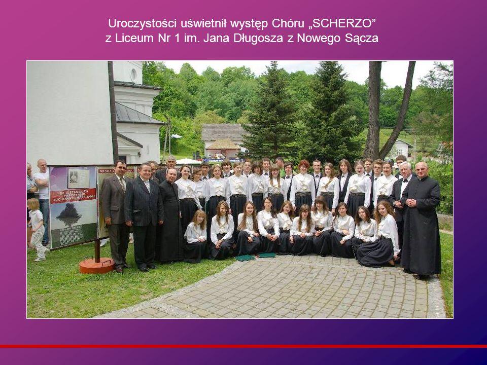 """Uroczystości uświetnił występ Chóru """"SCHERZO z Liceum Nr 1 im"""