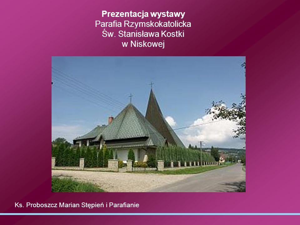 Prezentacja wystawy Parafia Rzymskokatolicka Św