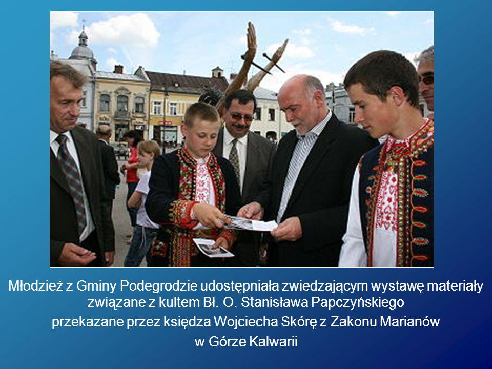przekazane przez księdza Wojciecha Skórę z Zakonu Marianów