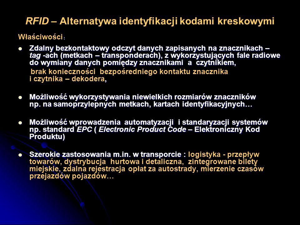 RFID – Alternatywa identyfikacji kodami kreskowymi