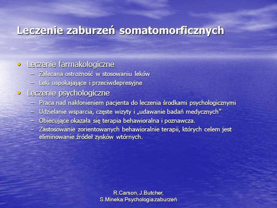 Leczenie zaburzeń somatomorficznych