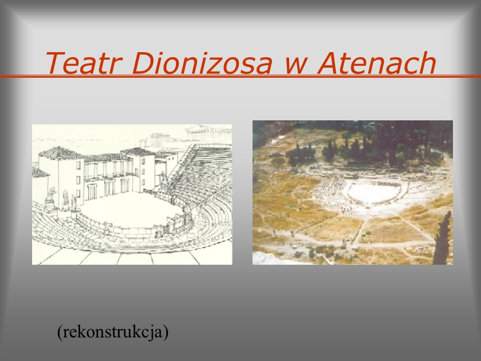 Teatr Dionizosa w Atenach