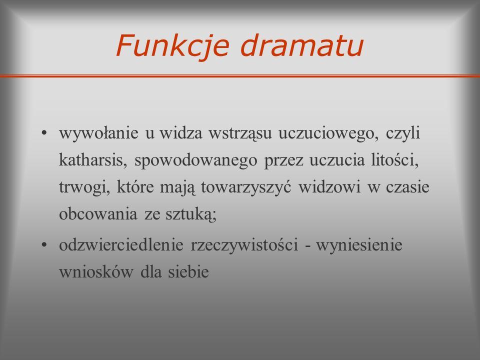 Funkcje dramatu
