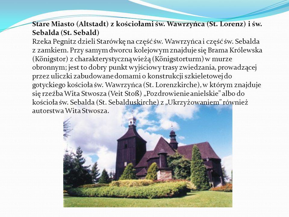 Stare Miasto (Altstadt) z kościołami św. Wawrzyńca (St. Lorenz) i św